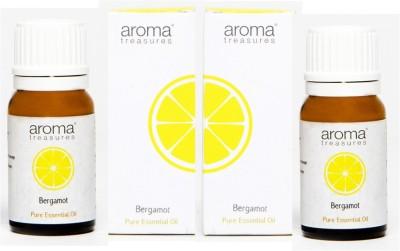 Aroma Treasures Bergamot Essentail Oil 10ml (Pack Of 2)