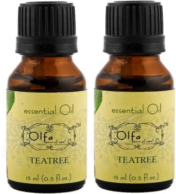Olfa Tea Tree Essential Oil Combo(Pack Of 2)-15ml+15ml