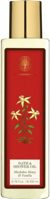 Forest Essentials Bath & Shower Oil Mashobra Honey & Vanilla(200 ml)