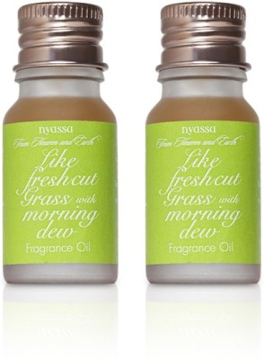 Nyassa Like Fresh Cut Grass with Morning Dew Fragrance Oil Pack Of 2