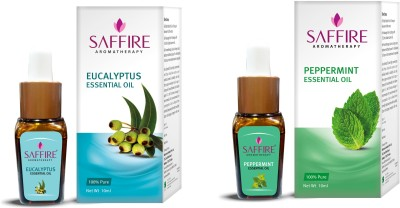 Saffire Pepermint and Eucalyptus Essential Oil ( Pack of 2 )