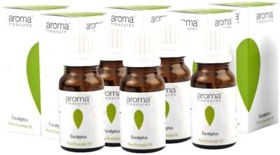 Aroma Treasures Eucalyptus Essential Oil 10ml (Pack Of 5)