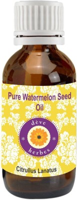 Deve Herbes Pure Watermelon Seed Oil 30ml (Citrullus Lanatus)