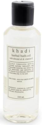 Khadi Natural Bath Oil with Almond & Vitamin E