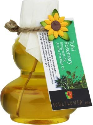 Soulflower Rosemary Tulsi Invigorating Aroma Massage Oil