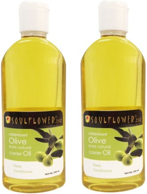 Soulflower Olive Oil Combo(400 ml)
