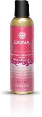 Dona Scented Massage Oil Flirty Aroma: Blushing Berry