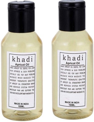 Khadi Herbal Apricot Oil (Twin pack )