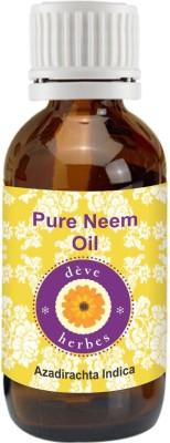 Deve Herbes Pure Neem Oil - Azadirachta Indica(100 ml)