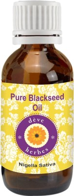 Deve Herbes Pure Blackseed Oil 50ml -  Nigella Sativa 100% Natural Cold Pressed