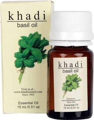 khadi Natural Basil Essential Oil