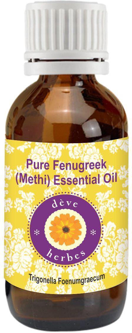 D�Ve Herbes Pure Fenugreek(Methi) Oil (Essential) 10ml - Trigonella Foenumgraecum(10 ml)