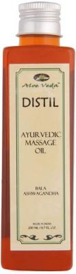Aloe Veda Distil Ayurvedic Massage Oil - Bala Ashwagandha
