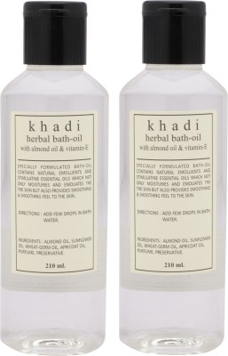 Khadi Natural Herbal Bath Oil-Pack Of 2