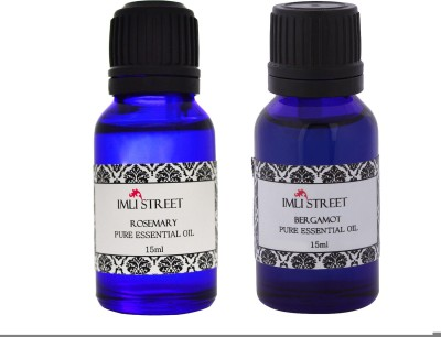 Imli Street Bergomot & Rosemary Essential Oil