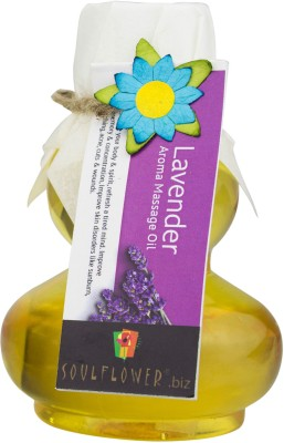 Soulflower Lavender Aroma Massage Oil