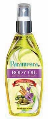 Parampara Body Oil with Olive, Kesar, Almond & Chandanadi Tailam