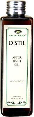 Aloe Veda Distil Sandalwood After Bath Oil