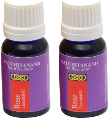 Satchitanand Rose Essential Oil - Twin Pack