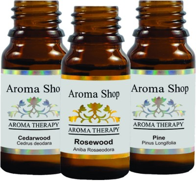Rk's Aroma Cedarwood, Pine and Rosewood Essential Oil (pack of 3)