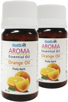 Healthvit Aroma Orange Essential Oil(Pack of 2)