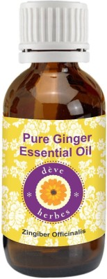 DèVe Herbes Pure Ginger Essential Oil - Zingiber Officinalis