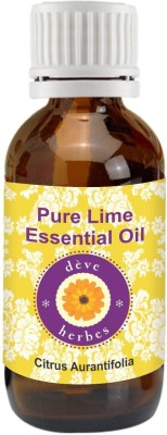 DèVe Herbes Pure Lime Essential Oil - Citrus Aurantifolia