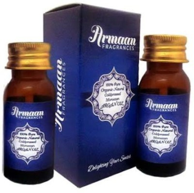Armaan Argan Oil -100% Pure Natural Organic Coldpressed Imported From Morocco (30ml + 30ml )