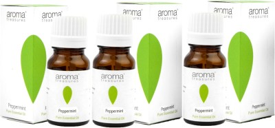 Aroma Treasures Peppermint Essential Oil 10ml (Pack Of 3)