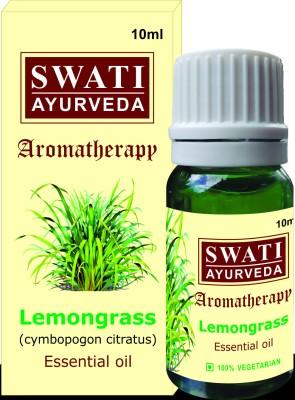 Swati Ayurveda Essential Oil Lemongrass (Cymbopogon Citratus)