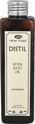 Aloe Veda Distil Strawberry After Bath Oil