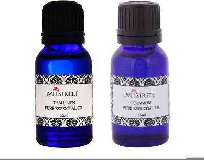 Imli Street Geranium & Thai Linen Essential Oil