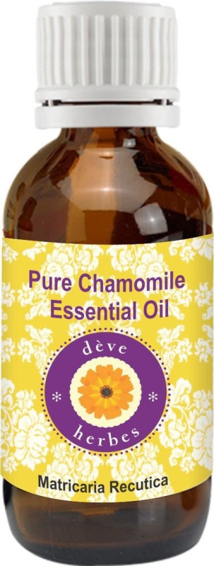 DèVe Herbes Pure Chamomile Essential Oil (5ml) - Matricaria Recutica(5 ml)