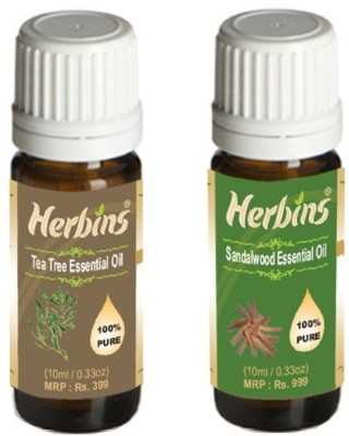 Herbins Essential Oil (Tea Tree & Sandal)