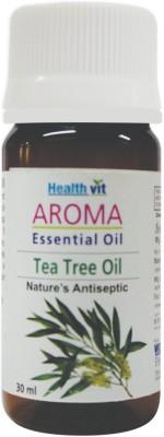 Healthvit Aroma Tea Tree Essential Oil Powerful Antiseptic