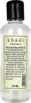 Khadi Natural Bath Oil with Invigorating Essential Oils(210 ml)