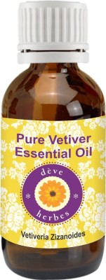DèVe Herbes Pure Vetiver Essential Oil (5ml) - Vetiveria Zizanoides