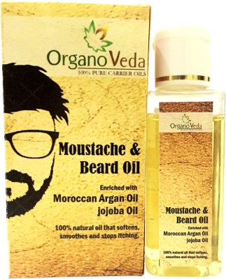 Organo veda Moustache and Natural Beard oil