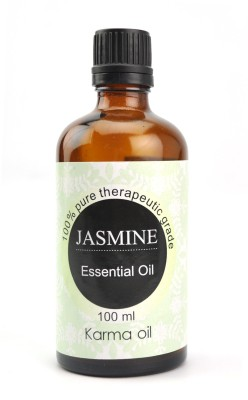 Karmakara 100% pure Therapeutic Grade undiluted essential oils in 100 ml Bottles-jasmine oil