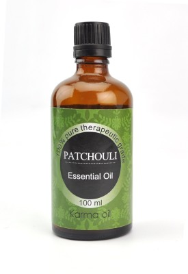 karmakara 100% pure Therapeutic Grade undiluted essential oils in 100 ml Bottles-patchouli oil
