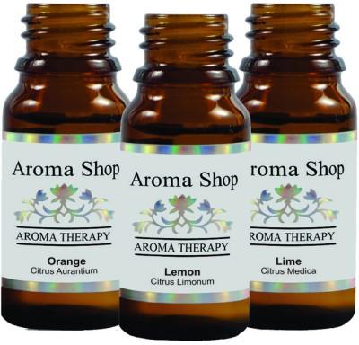 Rk's Aroma Orange, Lime & Lemon Essential Oil (pack of 3)