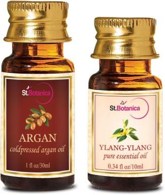 StBotanica Argan Oil (30ml) + Ylang-Ylang Pure Essential Oil (10ml)