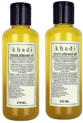 Khadi Herbal Sweet Almond oil