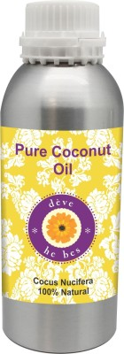 Deve Herbes Pure Coconut Oil 630ml - Cocus Nucifera 100% Natural Cold Pressed