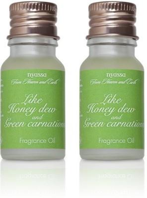 Nyassa Like Honey Dew And Green Carnations Fragrance Oil Pack Of 2