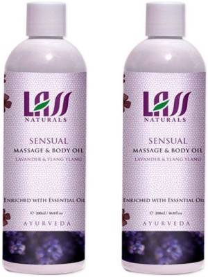 Lass Naturals Lass Naturals LASS SENSUAL MASSAGE & BODY Oil Combo ( Set of 2 )