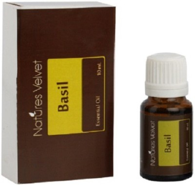 Natures Velvet Life Care Basil Essential Oil