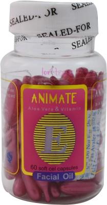 Forteens 60 Vitamin E Facial (Pink) Capsules Oil