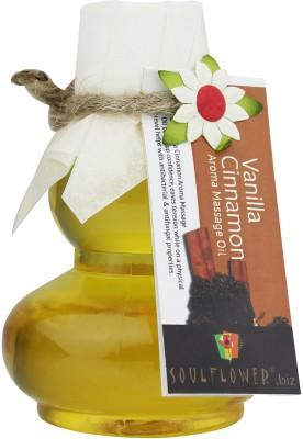 Soulflower Vanilla Cinnamon Aroma Massage Oil