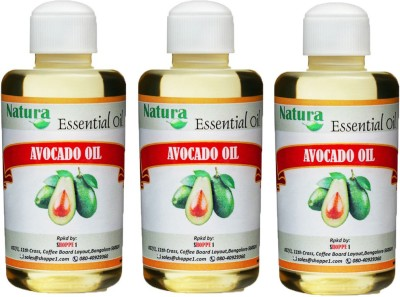 Natura Avocado (Persea Americana) Natural Carrier Oil pack of 3